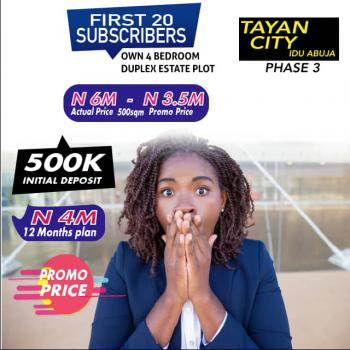 Lands  Buy and Build, Tayan City, Idu Phase 3, Idu Industrial, Abuja, Residential Land for Sale