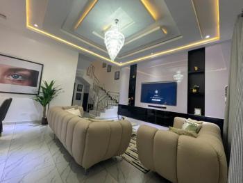 Luxury 4 Bedroom Duplex with a Topnotch Finishing, Chevron Allternative, Lekki, Lagos, Detached Duplex Short Let
