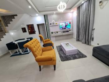 Luxury 4 Bedroom Terrace Duplex with a Swimmng Pool, Horizon 2, Ikate, Lekki, Lagos, Terraced Duplex Short Let