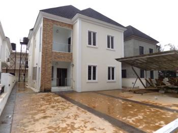 5 Bedroom Fully Detached Duplex with Bq. Large Compound to Park 9 Cars, 2nd Toll Gate, Lekki, Lagos, Detached Duplex for Sale