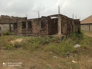 Cheap House Built to Lintel Level in a Serene Neighbourhood, Banku Estate, Wawa, Berger, Arepo, Ogun, Detached Duplex for Sale