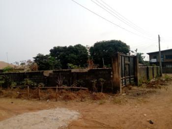 Fenced Corner Plot Land with Gate, Old Airport Road., Thinkers Corner, Enugu, Enugu, Residential Land for Sale