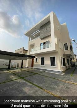Newly Built & Furnished 6 Bedroom Duplex + 2 Room Bq + Swimming Pool, Lekki Phase 1, Lekki, Lagos, Detached Duplex for Sale