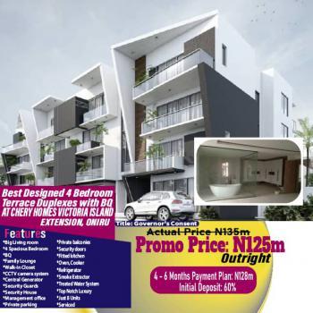 Cherry Homes, Victoria Island (vi), Lagos, Terraced Duplex for Sale