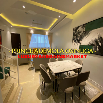 Cheapest Furnished 3 Bedroom Terrace House in The Estate, Banana Island Estate, Banana Island, Ikoyi, Lagos, Terraced Duplex for Sale