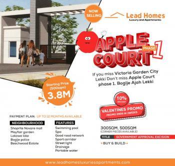 Land, Apple Court Phase 1, Bogije, Ibeju Lekki, Lagos, Residential Land for Sale