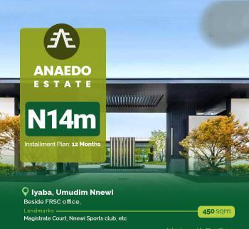 Land, Opposite Frsc Office Iyaba Umudin, Nnewi, Anambra, Mixed-use Land for Sale