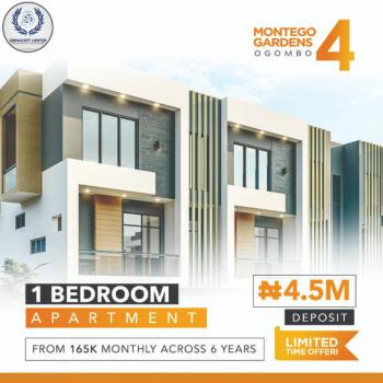 Luxury 1 Bedroom Flat with Fitted Kitchen and Exquisite Finishing, Montego Gardens 4 Ogombo Road By Abraham Adesanya Estate, Ajah, Lagos, Mini Flat for Sale