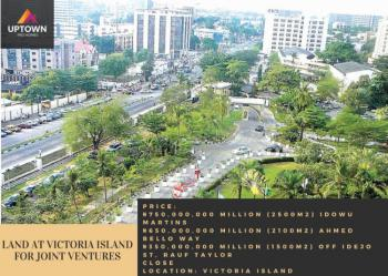 Land for Joint Ventures, Victoria Island (vi), Lagos, Land Joint Venture