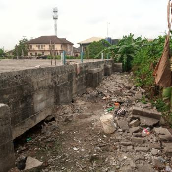 Land  Measuring 446sqm with Foundation, Anthony Garden Estate, Anthony, Maryland, Lagos, Mixed-use Land for Sale