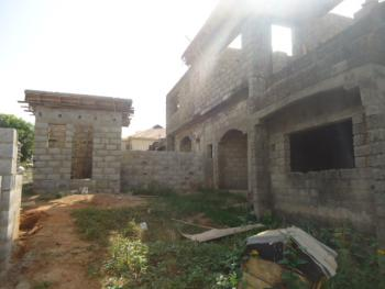 4 Bedrooms Semi Detached Duplex Carcass with Bq, By Kabusa Junction, Apo, Abuja, Semi-detached Duplex for Sale