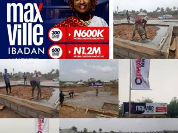 Estate Dry Lands. Buy and Win Lexus Es350, Moniya, Ibadan, Oyo, Mixed-use Land for Sale