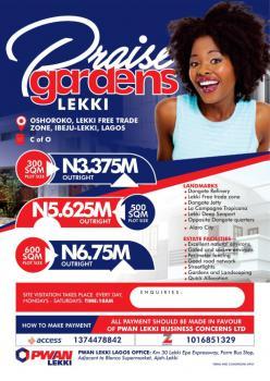 Dry Land in Estate, Oshoroko, Lekki Free Trade Zone, Lekki, Lagos, Mixed-use Land for Sale