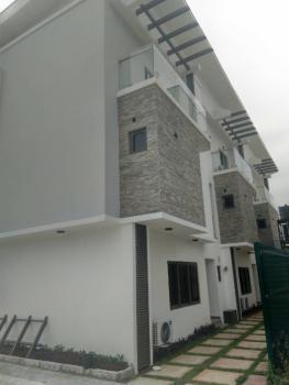 Serviced 4 Bedroom Terrace Houses on 3 Floors. One Room Servant Quarters, Osbourne Foreshore Estate, Ikoyi, Lagos, Terraced Duplex for Rent