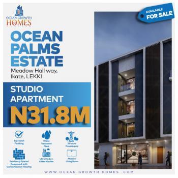 One Bedroom Studio Apartment, Ikate, Lekki, Lagos, Block of Flats for Sale