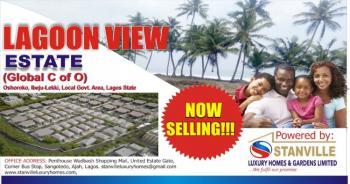 Lagoon Waterfront C of O Land, Oshoroko, Ibeju Lekki, Lagos, Land for Sale