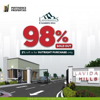 Land, Lavida Hills Samson Taiwo Road, D & D Junction, Ikola Road, Ipaja, Lagos, Residential Land for Sale