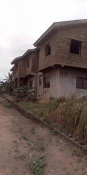 a Building That Contained 4 Nos of 3-bedroom Flats, 90% Completed, Obantoko, Abeokuta South, Ogun, Block of Flats for Sale