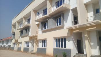Nice 4 Bedroom Duplex, About a Kilometer From Coza, Guzape District, Abuja, Terraced Duplex for Sale