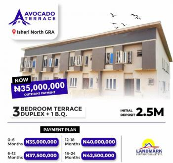 Luxury 3 Bedroom Terraced Duplex Plus 1 Bq, Queens Garden Isheri -north, G.r.a Estate, Isheri North, Lagos, Terraced Duplex for Sale