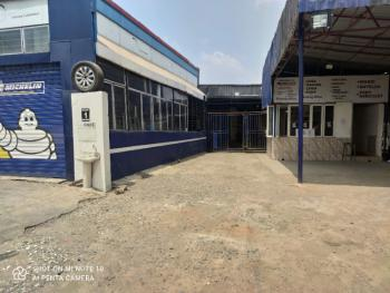 Commercial Property on About 600sqm Used As Lube Or Other Purposes, Off Wemco Road, Ogba, Ikeja, Lagos, Commercial Property for Rent