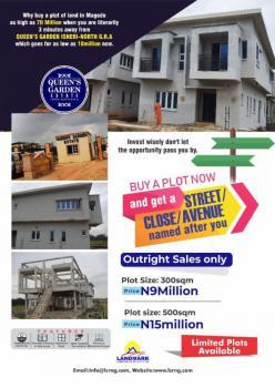 Land, 15mins Drive to Muritala International Airport. Queens Garden Estate Isheri-north, Isheri North, Lagos, Residential Land for Sale