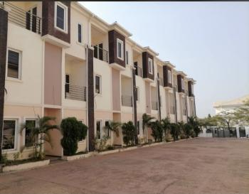 Luxury 4 Bedrooms Terraced Duplex in a Serene Environment, Close to Eterna Petrol Station, By Nepa Junction, Gudu, Abuja, Terraced Duplex for Sale