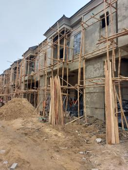 Brand New 4 Bedroom Terrace in an Estate, Orchid Hotel Road, Lafiaji, Lekki, Lagos, Terraced Duplex for Sale