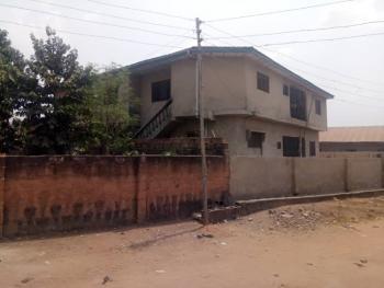 Block of 4 Flats of 2 Bedroom Each, Akingbile Iita, Ibadan, Oyo, Block of Flats for Sale