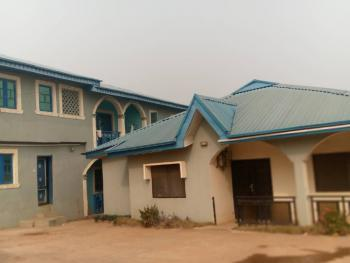4 Flat of 3 Bedrooms Each with 3 Bedrooms Bungalow on 2 Plots of Land, Anuoluwapo Estate, Airport Road, Ibadan, Oyo, Block of Flats for Sale
