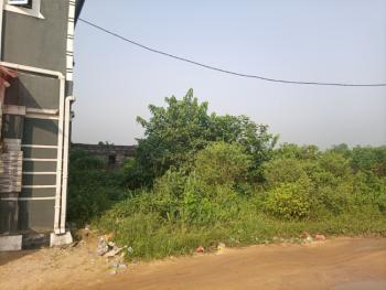 Well Located and Accessible Dry Land with Uncompleted Bungalow, Off Uzuoba Police Station, Uzuoba, Port Harcourt, Rivers, Residential Land for Sale