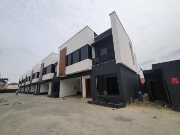 Charming Newly Built 4 Bedrooms Terraced Duplex, Osapa, Lekki, Lagos, Terraced Duplex for Sale