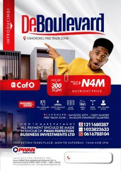 Land, Lekki Free Trade Zone, Lekki, Lagos, Residential Land for Sale