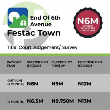 Own a Land, Festac, Amuwo Odofin, Lagos, Residential Land for Sale