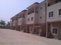 Beautifully Finished 4 Bedrooms Terrace House With Boys Quarters, Apo, Abuja, Terraced Duplex for Sale