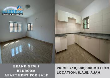 Brand New 1 Bedroom Apartment, Ilaje, Ajah, Lagos, Self Contained (single Rooms) for Sale