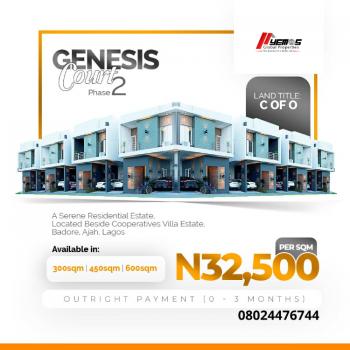 Land, Cooperative Villa, Badore, Ajah, Lagos, Residential Land for Sale