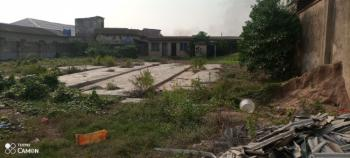 Slightly Above 2 Plots of Land Ideal for Commercial Use with Fence, Ijaiye-agbado Road, Ojokoro, Ifako-ijaiye, Lagos, Commercial Land for Sale