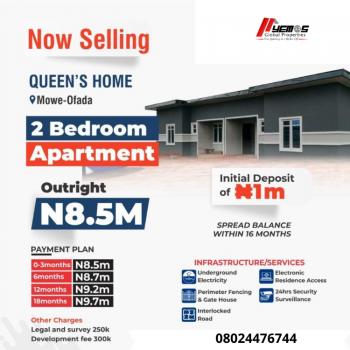 2 Bedroom Apartment, Mowe Ofada, Ogun, Semi-detached Bungalow for Sale