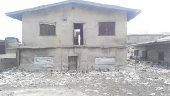 a Demolishable   Property on Half Plot of Land  in My 12 on Half Plot, Very Close to Brt Terminal  Thomas Street, Mile 12, Kosofe, Lagos, Land for Sale
