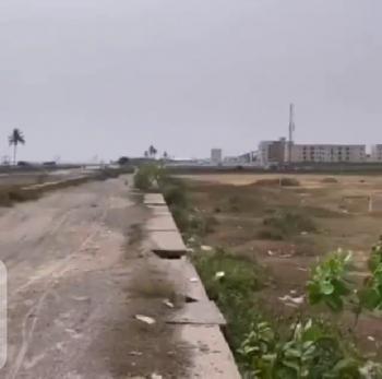 Beach Front Land 90 Plots, Facing The Beach Front Lekki Ilasan Infrastructure, Ilasan, Lekki, Lagos, Residential Land for Sale