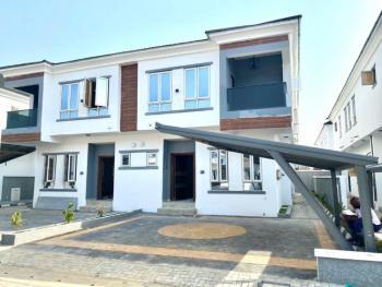 New 4 Bedrooms Semi Detached House + Bq, Off Kusenla, Ikate Elegushi, Lekki, Lagos, Semi-detached Duplex for Sale
