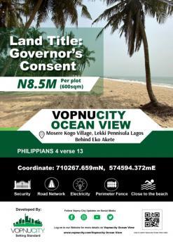Vopnu City Ocean View Estate, Behind Eko Akete, Mosere Ikoga, Ibeju Lekki, Lagos, Residential Land for Sale
