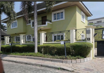 4 Bedroom Detached Duplex(self Serviced), Abacha Estate, Ikoyi, Lagos, Detached Duplex for Rent