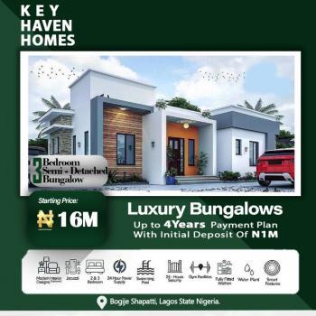 3 Bedroom Bungalowi, Bogije, Ibeju Lekki, Lagos, Detached Bungalow for Sale