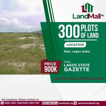 300 Plots of Land, Epe, Lagos, Residential Land for Sale