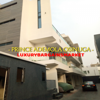Prince Ademola Osinuga Cheap & Furnished 3 Bedroom Terrace House + Bq, Banana Island, Ikoyi, Lagos, Terraced Duplex for Sale