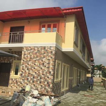 Newly Built  4 Bedrooms Semi Detached Duplex with 1 Room Bq, Crown Estate, Sangotedo, Ajah, Lagos, House for Sale