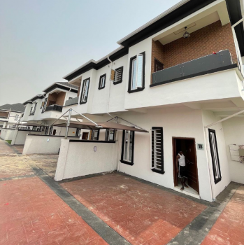 4 Bedrooms Semi Detached Duplex in a Mini Court, Ikota, Lekki, Lagos, Semi-detached Duplex for Rent