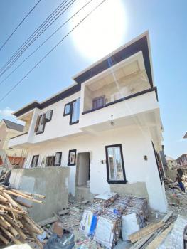4 Bedroom Semi Detached Duplex with a Room Bq, Sangotedo, Ajah, Lagos, Semi-detached Duplex for Sale